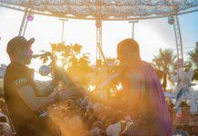 Música en vivo cada lunes y entrada gratis para residentes. Fotos: Ocean Beach Ibiza
