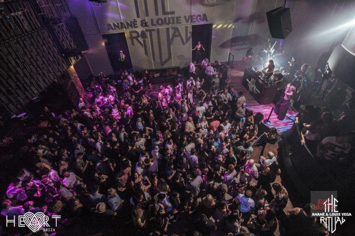 Heart Factory presenta The Ritual by Anané y Louie Vega. Foto: Heart Ibiza