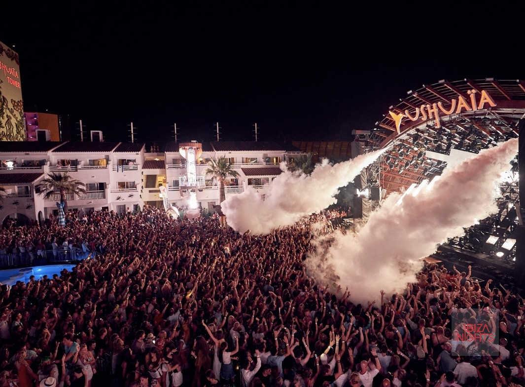 Una de las imágenes del increíble 'opening party'. Foto: Ushuaïa.