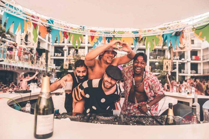 Cuando Rudimental se sube a la cabina del club, la diversión y el ritmo están asegurados. Fotos: Ibiza Rocks Hotel