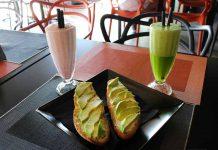 Deliciosos desayunos y 'smoothies', ideales para empezar el día.