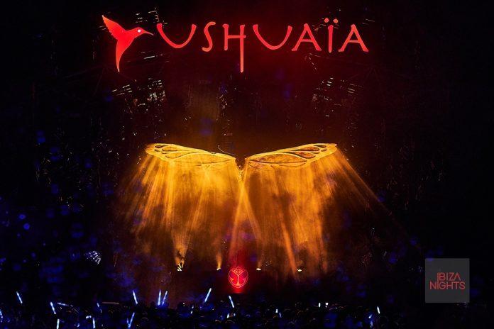 Ushuaïa Ibiza durante una de las sesiones de Garden of Madness.