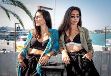 Giolì & Assia apuestan por un estilo musical que auna instrumentos, música electrónica y voz. Fotos: Sergio G.Cañizares