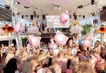 Actuaciones durante toda la fiesta. Fotos: Ocean Beach Ibiza