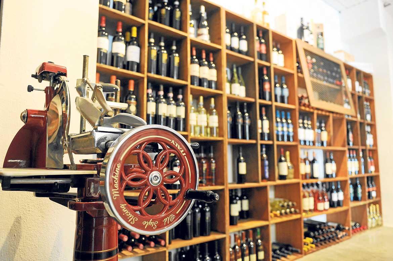 Expositor de Italian Wine import | Gabi Vázquez