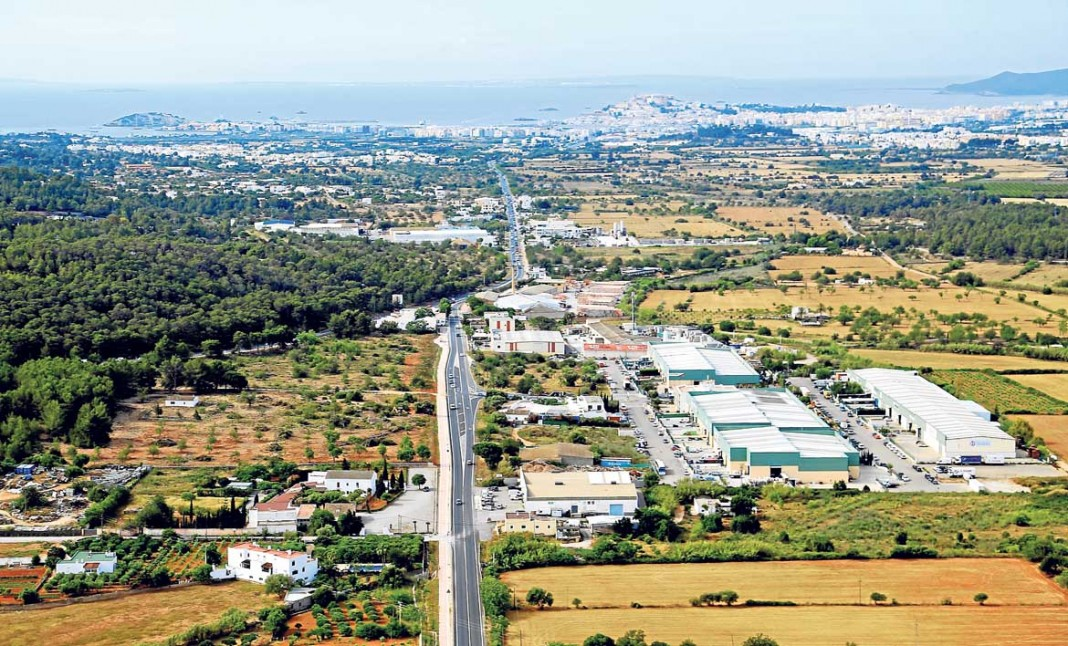 Vista Aérea Zona Industrial Ca Na Palava | ABA