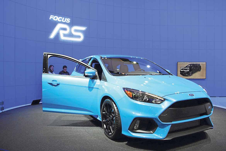 El Ford Focus RS se muestra por primera vez en EE UU.