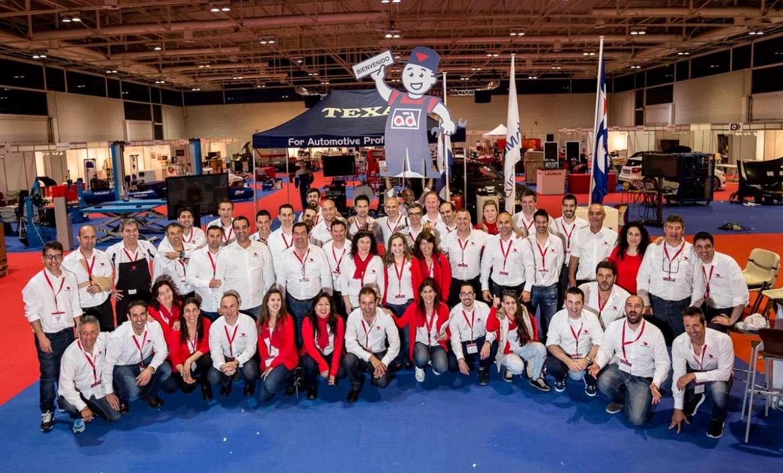 Parte del equipo de trabajo de Recambios Ibiza, que se involucró al máximo en la organización de la feria. juan francisco tur riera