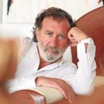 Pino Sagliocco descansa en su casa ibicenca de Sant Rafel. AISHA BONET