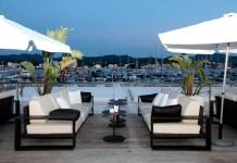 La terraza de Es Nàutic, un espacio idela para disfrutar en verano.