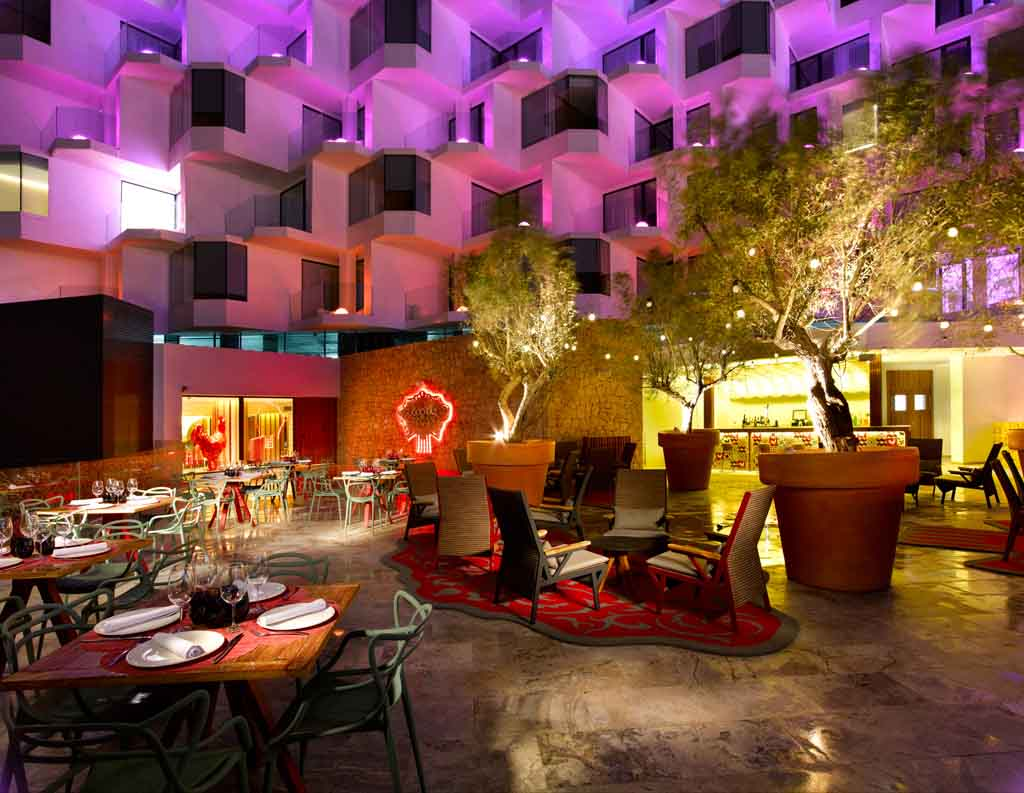 Un espacio que invita a disfrutar de la cocina de Paco Roncero.
