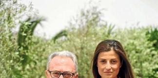[:es]Joan Juvé y con su hija Meritxell en Atzaró.[:]