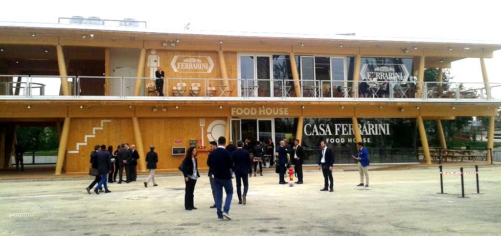 La sede de Casa Ferrarini está situada en la Expo de Milán.
