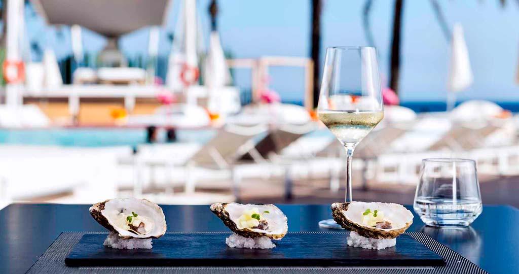 Podrá encontrar hasta siete tipos diferentes de ostras.