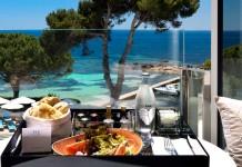 Un lujo gastronómico en un entorno paradisiaco.