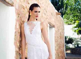 Vestido nupcial de la diseñadora Charo Ruiz.