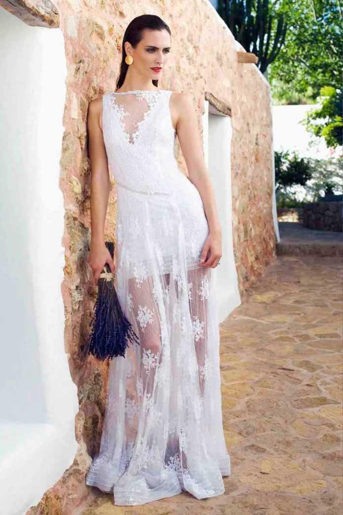 [:es]Vestido nupcial de la diseñadora Charo Ruiz.[:]
