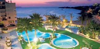 Impresionantes vistas desde las terrazas del Hotel Blau Parc. HOTEL BLAU PARC