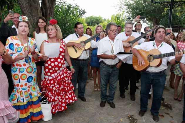[:es]El Coro Rociero de Sant Antoni en acción.[:]