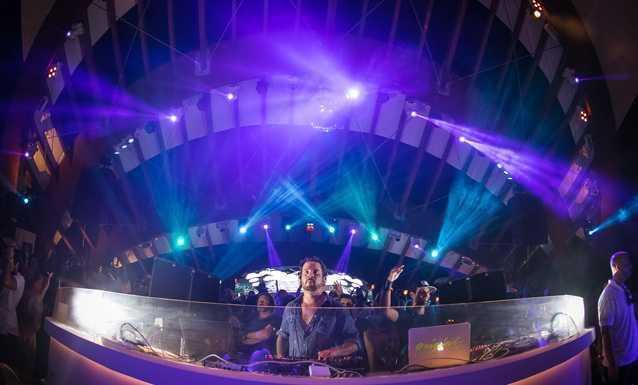 Luciano brilla en el escenario de Destino. JULIAN FARINA