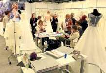 Uno de los expositores de la Barcelona BridalWeek celebrada este año. BARCELONA BRIDALWEEK