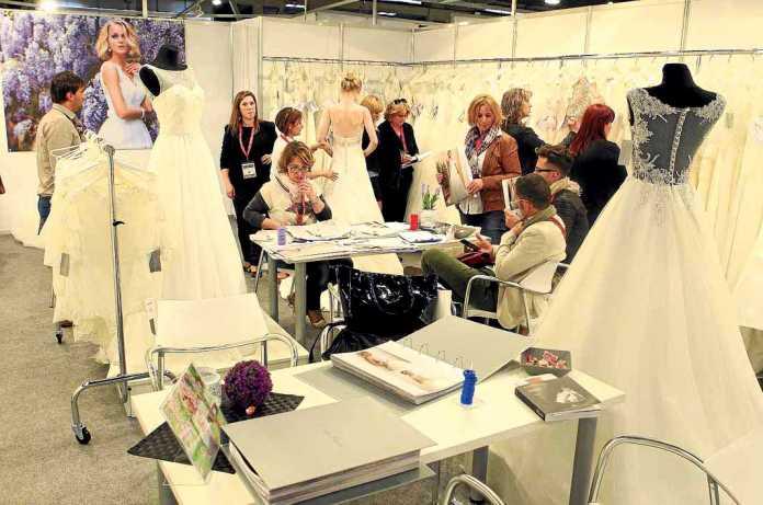 [:es]Uno de los expositores de la Barcelona BridalWeek celebrada este año. BARCELONA BRIDALWEEK[:]