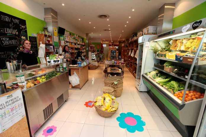 El rincón de la comida saludable en Eivissa. RUBÉN E. IBÁÑEZ