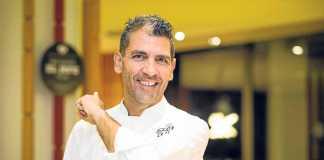 El chef Paco Roncero en su restaurante Estado Puro de Ibiza. SERGIO G. CAÑIZARES