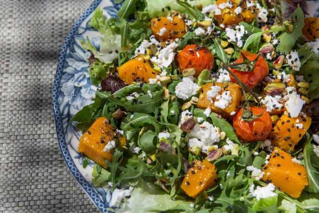 Gastronomía natural. AUBERGINE