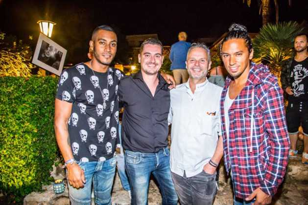 Edwin Vinke, Mike Dooms, Sunnery James y Ryan Marciano.