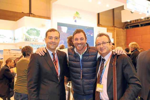 Raúl Sierra, Carlos Criado y Josep Antoni Escandell.