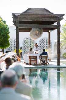 Ceremonias en Atzaró.
