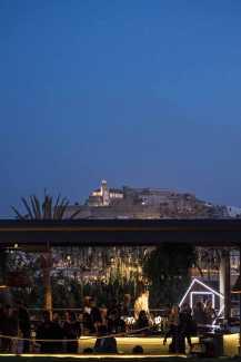 Dalt Vila, telón de fondo de las noches en Heart Ibiza