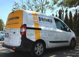 Bedrinks, distribuidora de las principales marcas de bebidas del mercado.