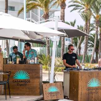 Evento de Tequila Casamigos en Ibiza.