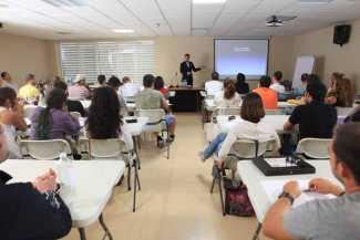 Cerca de 3.000 alumnos se han formado en Eivissa con Enotecum. AISHA BONET