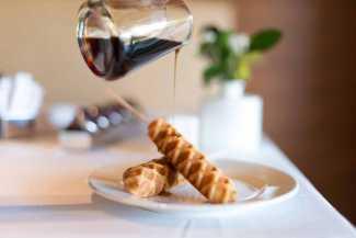 Desayunos con una increíble variedad y calidad.