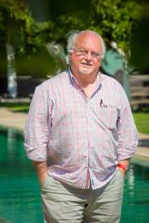 Jean Louis Neichel en su visita a Ibiza. AISHA BONET