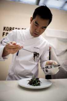 El chef durante su reciente intervención en Madrid Fusión. J. SUÁREZ
