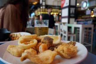 La fritura es una apuesta segura en Málaga.