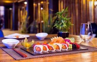 Un 'sushi' de primera a la mesa.