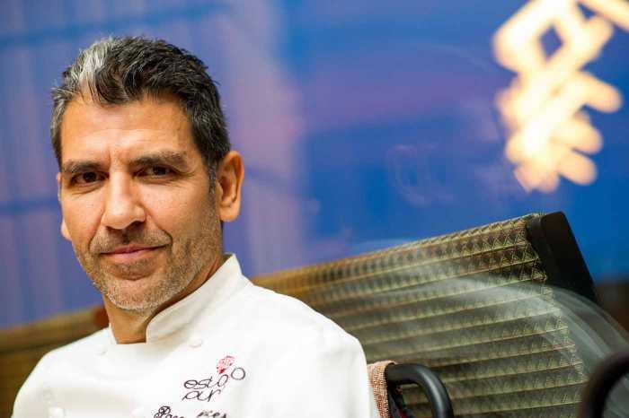 Roncero forma parte del jurado del programa 'Top Chef' de Antena 3 y quiere conocer mejor la cocina ibicenca. SERGIO G. CAÑIZARES