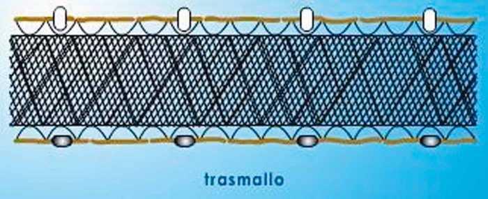 La técnica de trasmallo es utilizada por los llaüts. D.I.