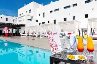 El restaurante, ubicado Migjorn Ibiza Suites &Spa.