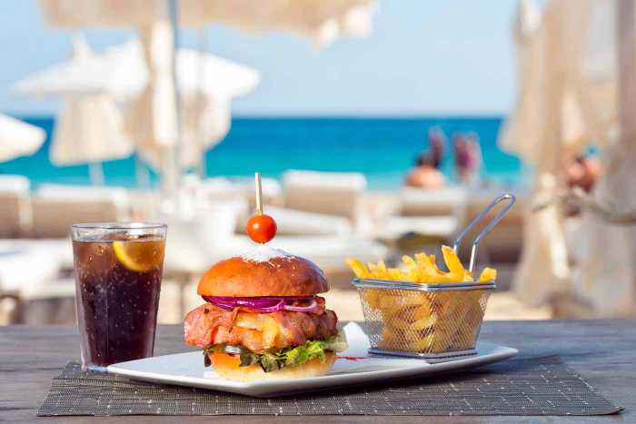 La hamburguesa de 'wagyu', perfecta para el verano ibicenco.