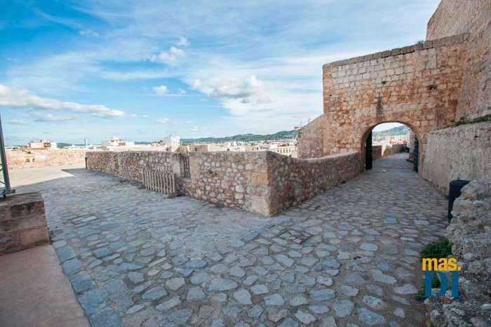 El Baluarte de Sant Pere, otro escenario histórico.