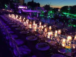 Varias decoraciones florales y de mesas realizadas en distintos eventos en Eivissa por Toni Riera y Toni Seguí.