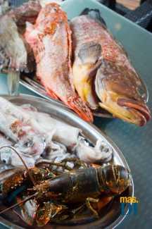Pescados y mariscos frescos. SERGIO G. CAÑIZARES