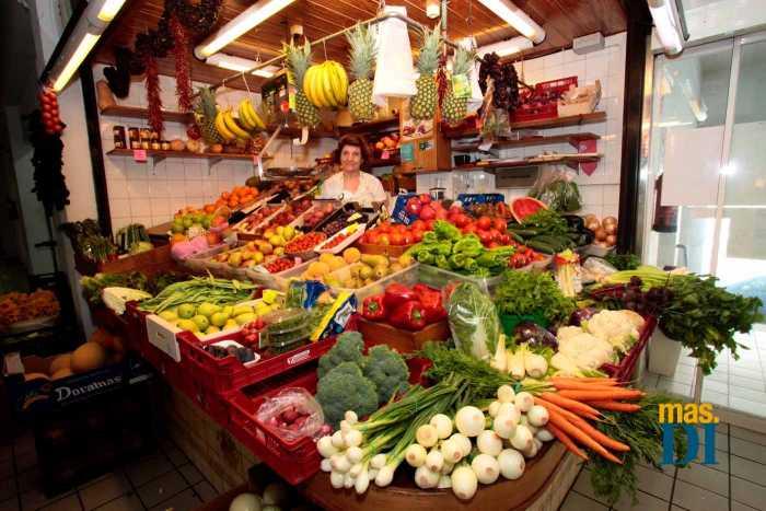 Gran variedad de productos de la tierra. RUBÉN E. IBÁÑEZ