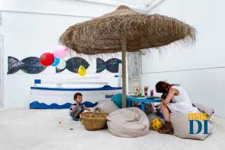 Kids Corner, un espacio para los más pequeños.